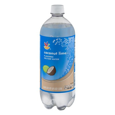 Ahold Coconut Lime Flavored Seltzer Water