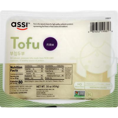 Assi Tofu, Firm