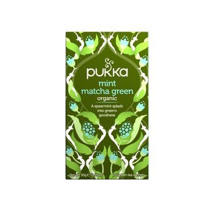 Pukka Organic Herbal Tea, Mint Matcha Green,
