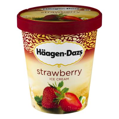 Haagen-Dazs HAAGEN-DAZS Strawberry Ice Cream