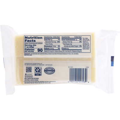 Lucerne Cheese, Part-Skim, Mozzarella, Low-Moisture