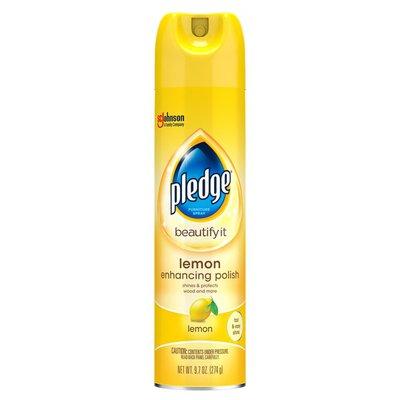Pledge Enhancing Polish Lemon