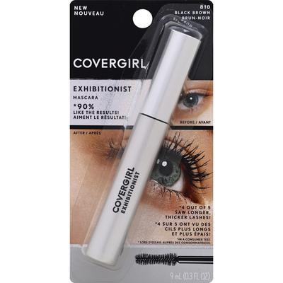 CoverGirl Mascara, Black Brown 810