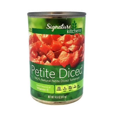 Signature Kitchens Petite Diced Tomatoes In Juice