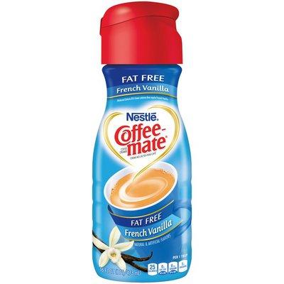 Nestlé Coffee Mate French Vanilla Fat Free COFFEE MATE Fat Free French Vanilla Liquid Coffee Creamer