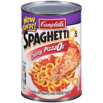 Spaghettios Cheesy PizzaOs Canned Pasta