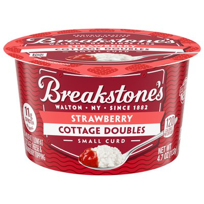 Breakstone'S Cottage Doubles Cottage Cheese & Strawberry Topping