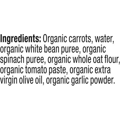 Plum Organics Hearty Veggie Carrots, Beans, Spinach & Tomato