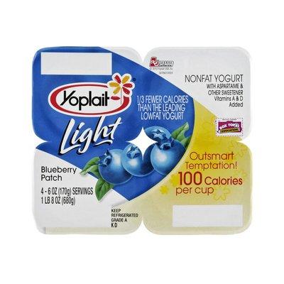 Yoplait Light Blueberry Patch Yogurt - 4 PK