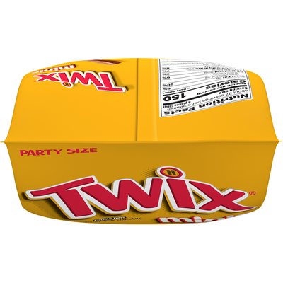 Twix Caramel Minis Size Chocolate Cookie Candy Bars