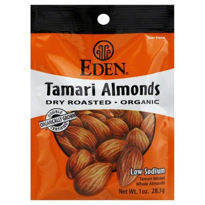 Eden Foods Almonds, Tamari, Organic