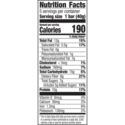 Nature Valley Chewy Granola Bars, Peanut Butter Dark Chocolate, 5 Count