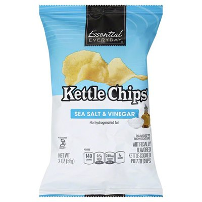 Essential Everyday Potato Chips, Kettle Chips, Sea Salt & Vinegar
