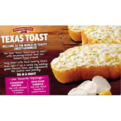 Pepperidge Farm®  Texas Toast Frozen 5 Cheese Bread