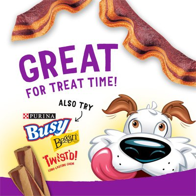 Purina Beggin' Strips Real Meat Dog Training Treats, Bacon & Cheese Flavors