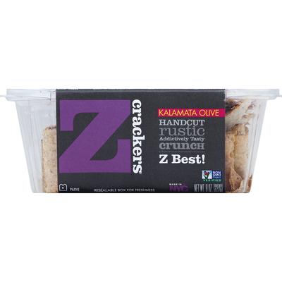 Z Crackers Crackers, Kalamata Olive