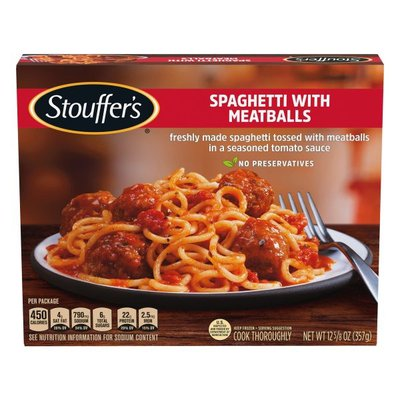 Stouffer's Spaghetti with Meatballs Frozen Meal