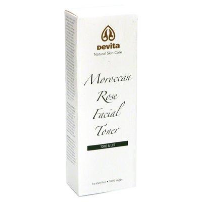 DeVita Facial Toner, Moroccan Rose, Tone & Lift