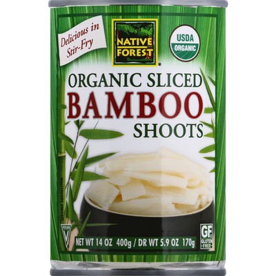 Native Forest Bamboo Shoots, Organic, Sliced