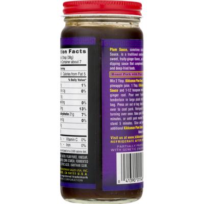 Kikkoman Plum Sauce