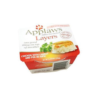 Applaws Layers Chicken With Carrot and Pea in Aspic Cat Food
