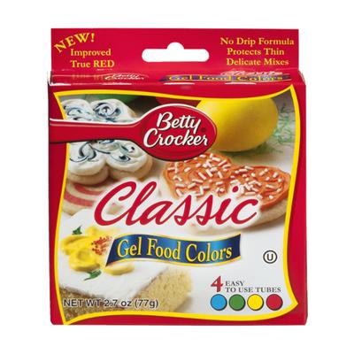 Betty Crocker Gel Food Color, Classic Colors