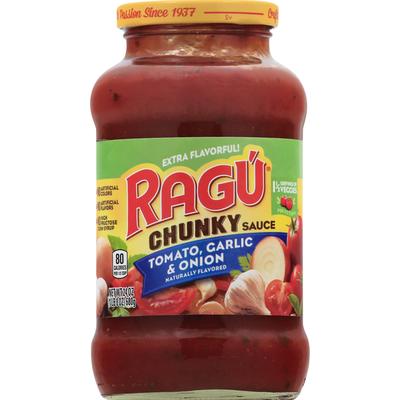 Ragú Tomato, Garlic & Onion Chunky Sauce