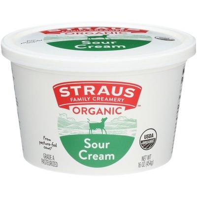 Straus Family Creamery Organic Sour Cream