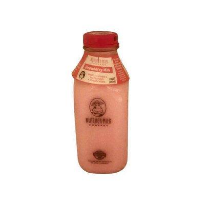 Nutcher Milk Company Strawberry Milk