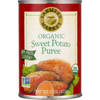 Farmer's Market Organic Sweet Potato Puree