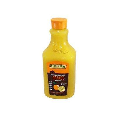 Fresh Thyme Original Orange Juice