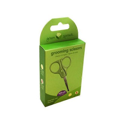 green sprouts Grooming Scissors
