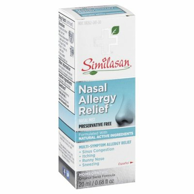 Similasan Allergy Relief, Nasal Mist