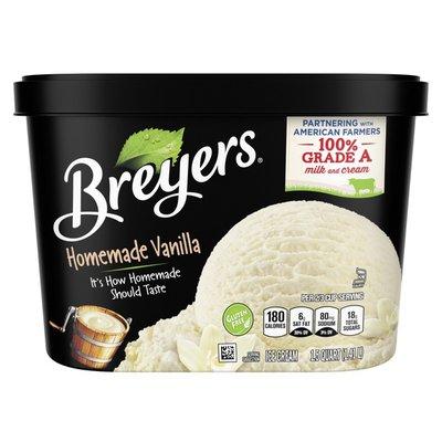 Breyers Ice Cream Homemade Vanilla