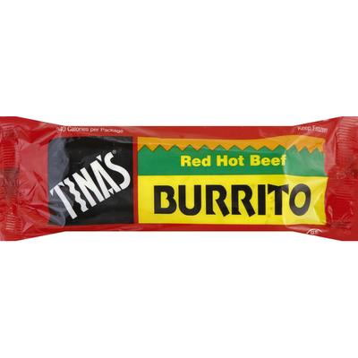 Tina's Burrito, Red Hot Beef
