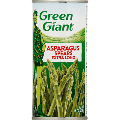 Green Giant Asparagus Spears Extra Long