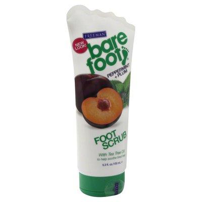 Bare Foot Foot Scrub, Peppermint + Plum