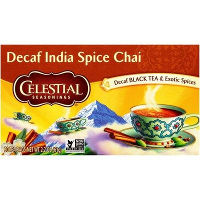 Celestial Seasonings Decaf India Spice Chai Tea Bags
