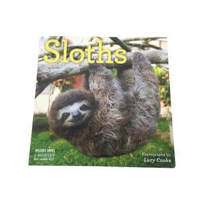 Workman Publishing Company Sloths Mini Wall 2018 Calendar