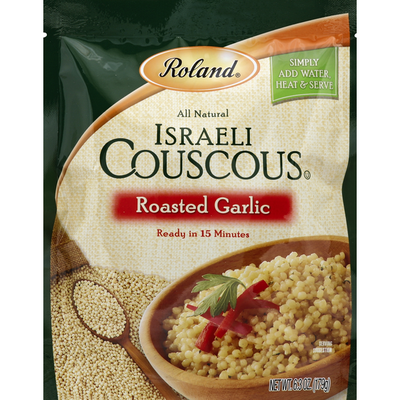 Roland Couscous, Israeli, Roasted Garlic