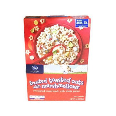 Kroger Frosted Toasted Oats With Marshmallows