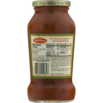Bertolli Tomato & Basil Sauce