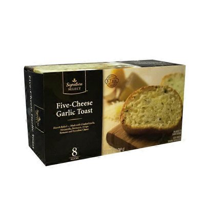 Signature Kitchens Five Cheese Hearth-baked Garlic Toast