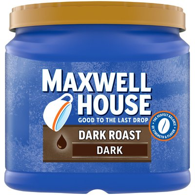 Maxwell House Dark Roast Dark Ground Coffee