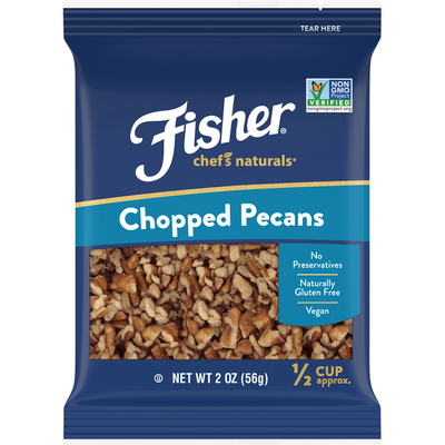 Fisher Pecans, Chopped