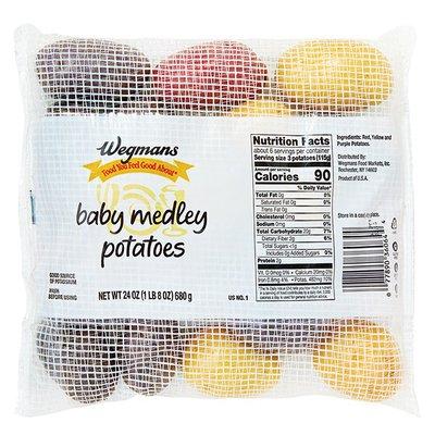 Wegmans Food You Feel Good About Baby Medley Potatoes