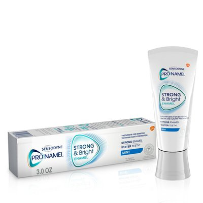 Sensodyne Pronamel Strong & Bright Enamel Mint Toothpaste, Strong & Bright Enamel Mint Toothpaste