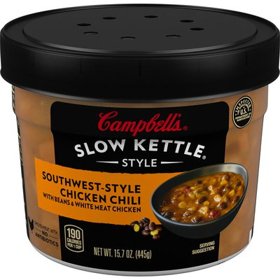 Campbell's® Slow Kettle® Southwest-Style Chicken Chili