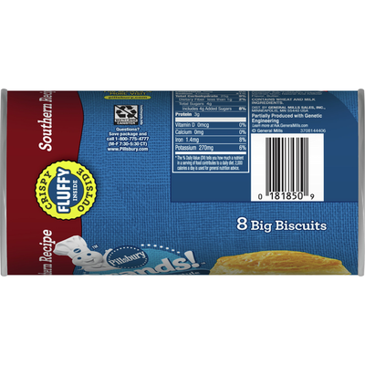 Pillsbury Grands! Southern Homestyle, Original Biscuits, 8 Count