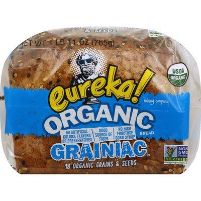 Eureka! Organic Grainiac 14 Grains & Seeds Bread